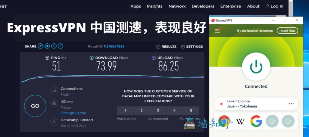 VPN测速2、免费VPN、ExpressVPN测速